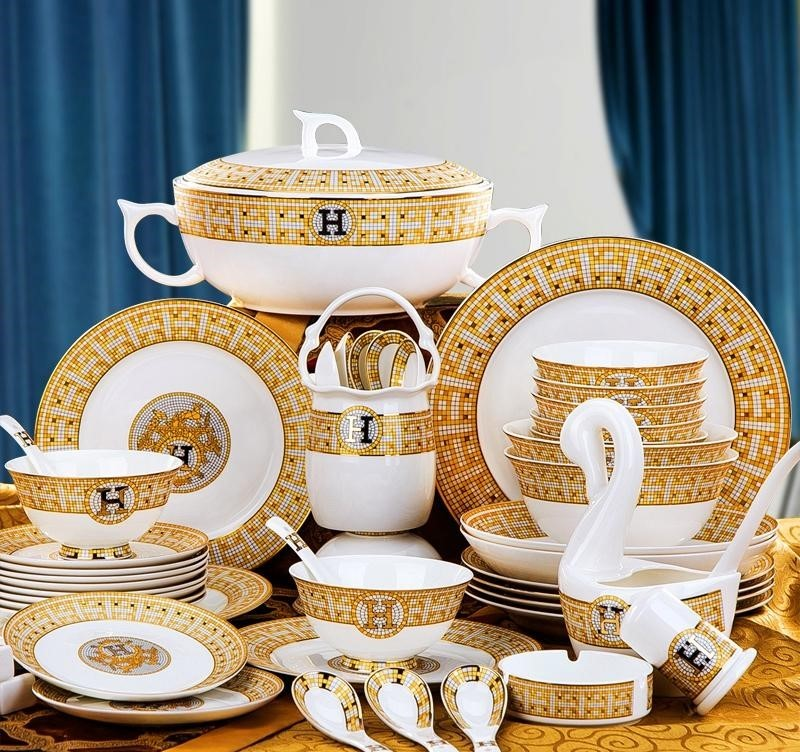Ceramic European Tableware Set